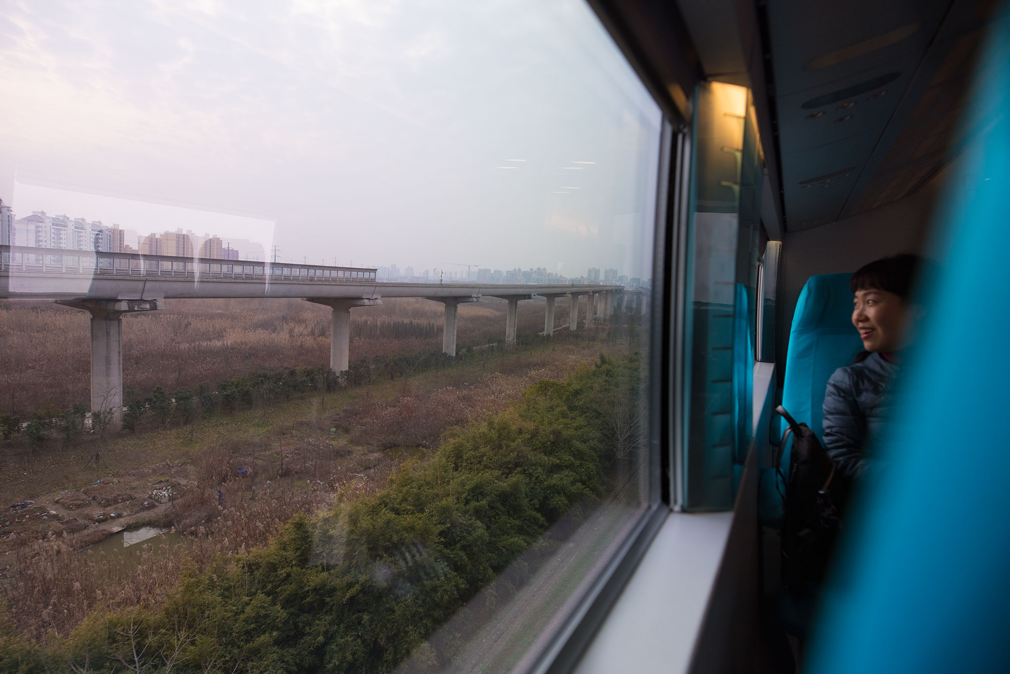 Transrapid - AP 30km to Shanghai