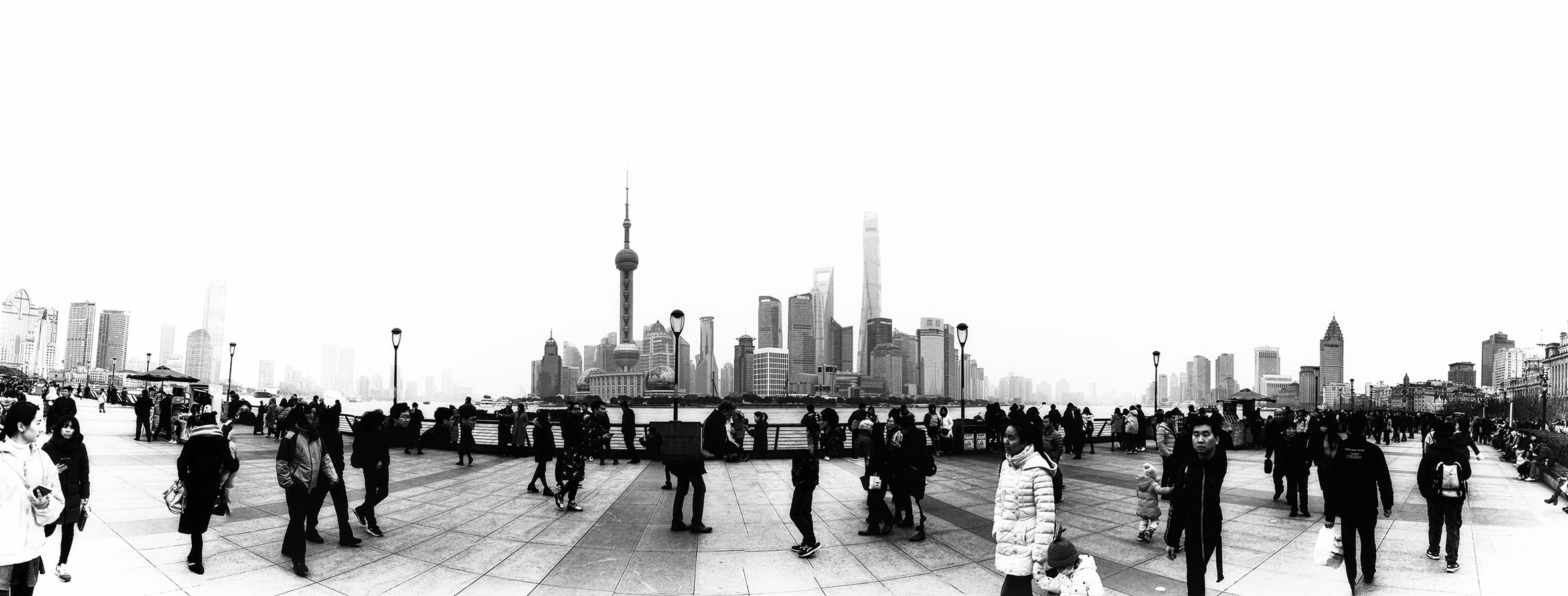 Panorama Skyline Shanghai - The Ring